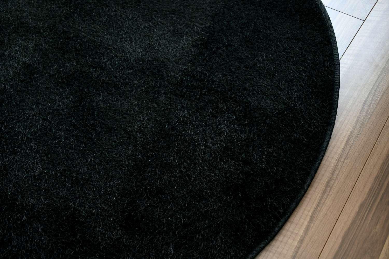 円形 ラグ 洗える