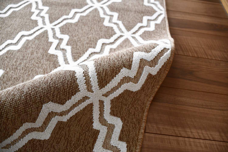 コットン 綿 ラグ 絨毯