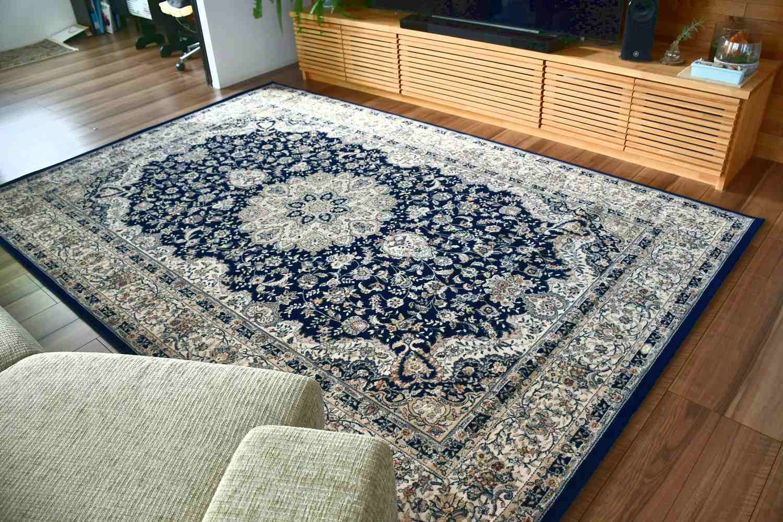 ラグ 絨毯 ベルギー 画像