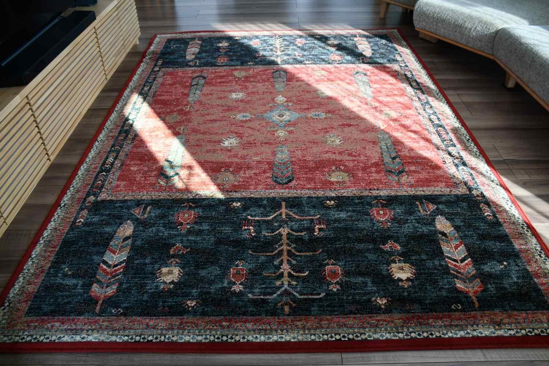 ラグ ウール 絨毯