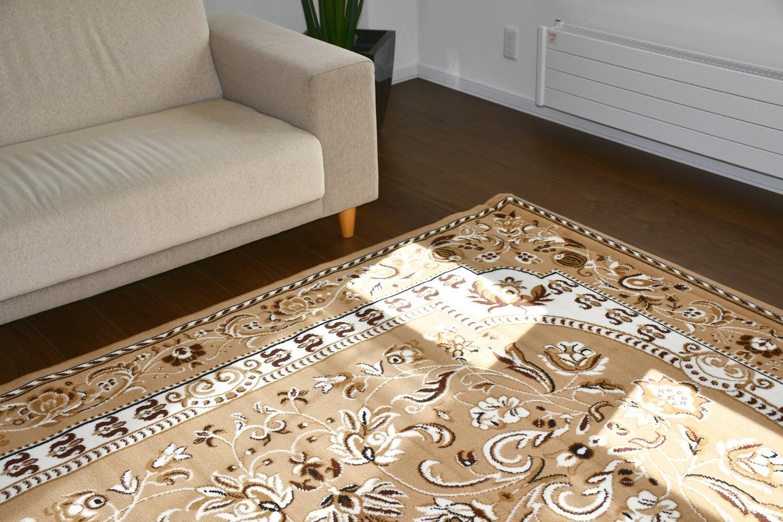 ベルギー 絨毯 ラグ 画像