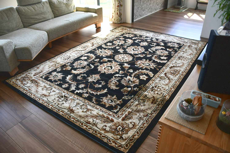 絨毯 ラグ 画像