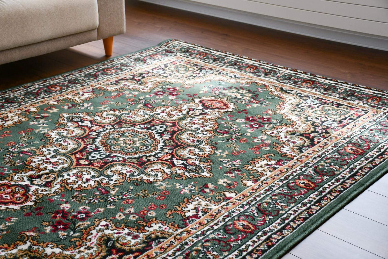 ベルギー ラグ 絨毯 画像