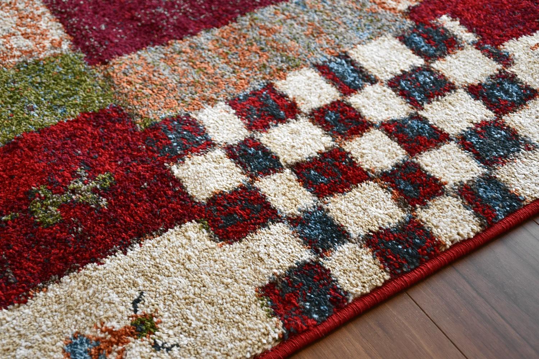 ギャッベ ラグ 絨毯 画像