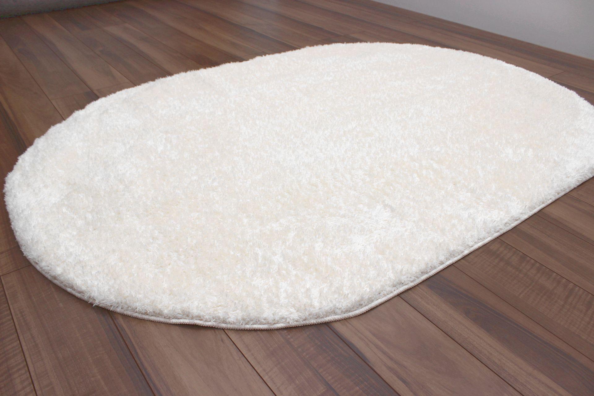 白 ホワイト ラグ 円形