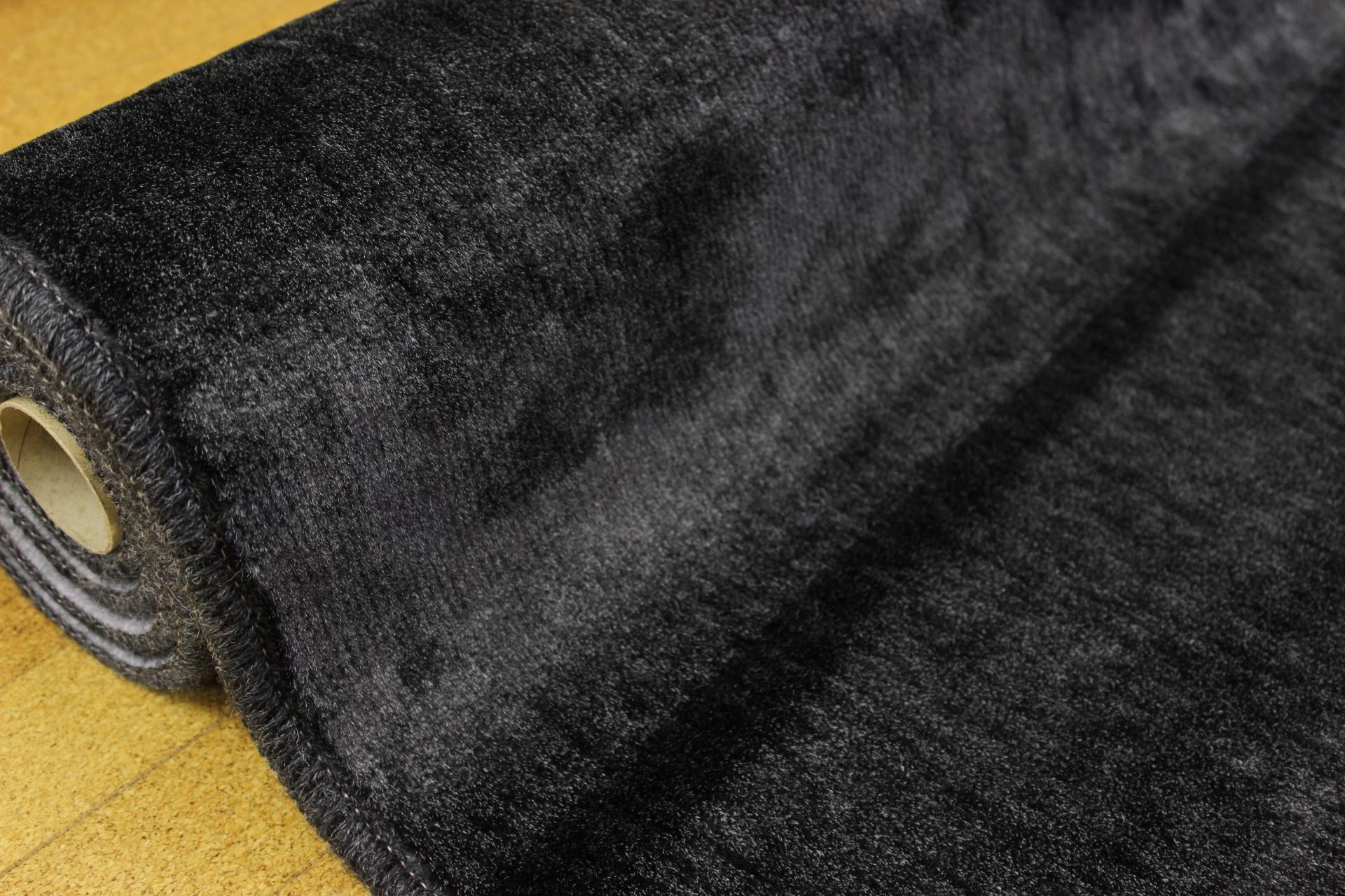カーペット 6畳 白 黒 ブラック