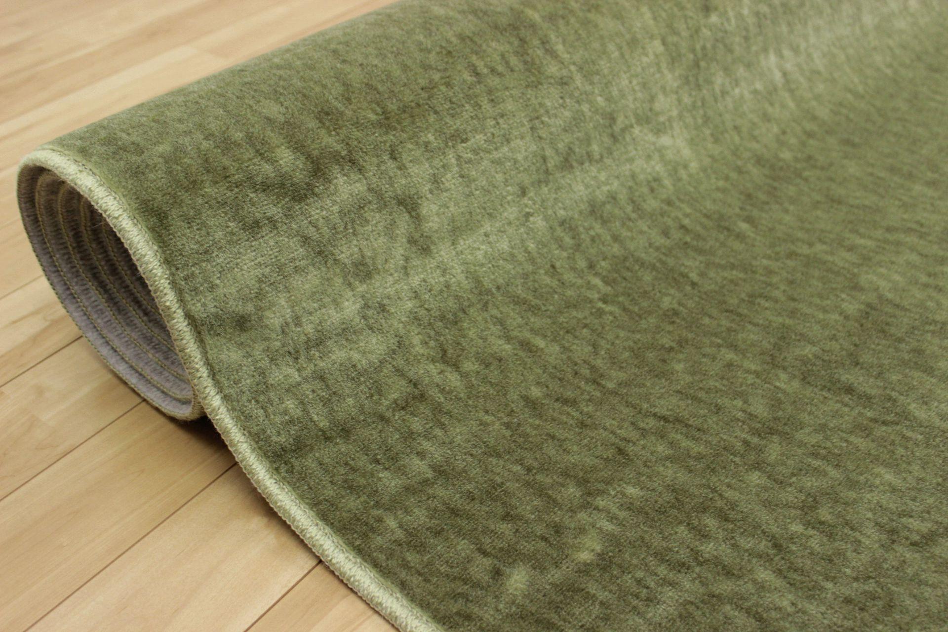 緑 カーペット 6畳