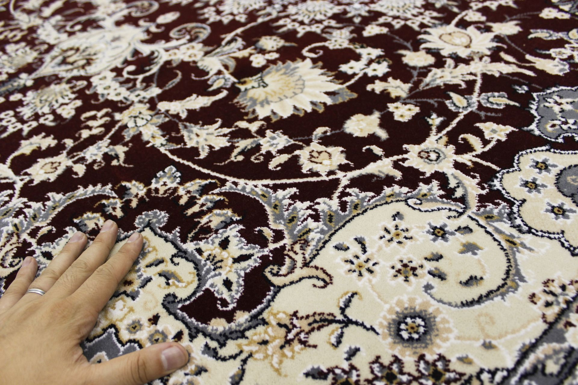 絨毯 ウール