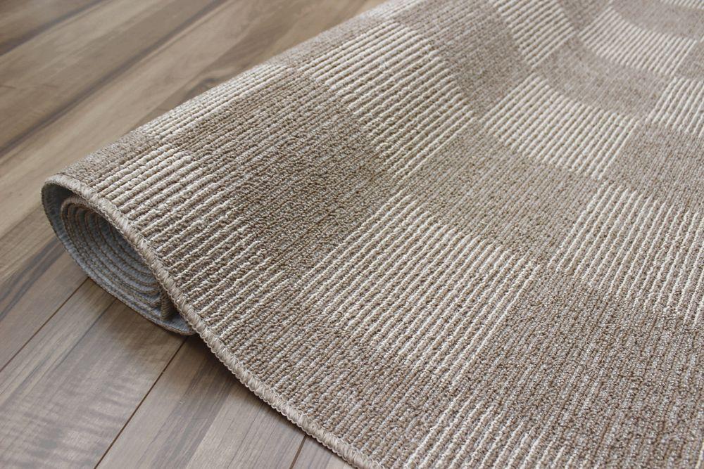 カーペット 6畳 ブラウン